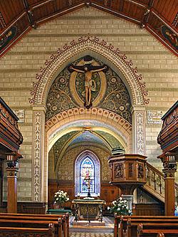Andreaskirche Uhlb Chorbogen k13108w