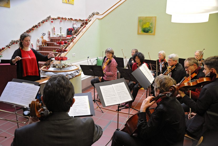Adventssingen Sylvesterorchester